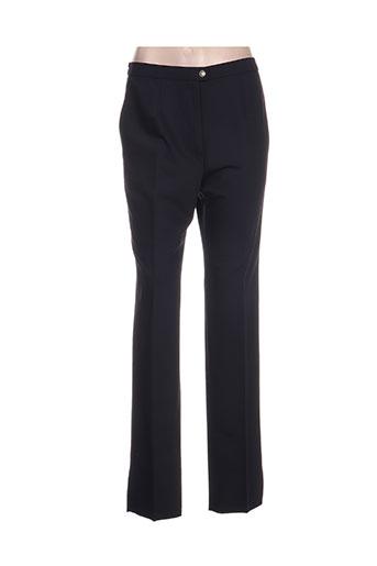 Pantalon casual bleu KARTING pour femme