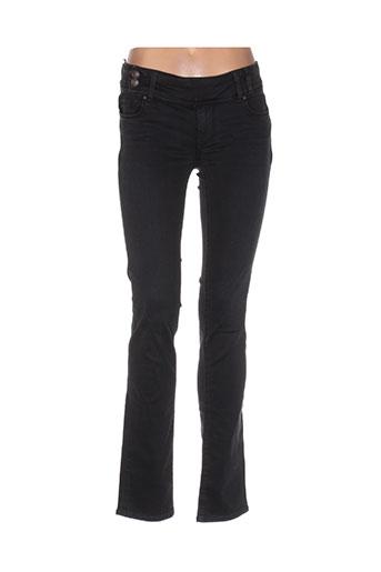 teddy smith jeans femme de couleur noir