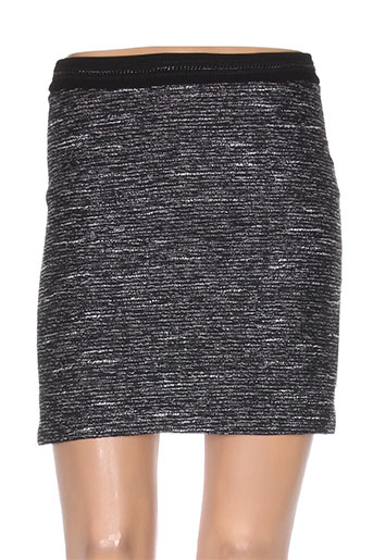 morgan jupes femme de couleur noir