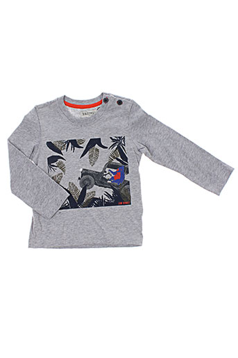 jean bourget t-shirts garçon de couleur gris