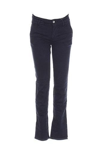 garcia pantalons garçon de couleur bleu