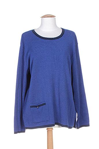 henry EFFI_CHAR_1 juliette pulls femme de couleur bleu