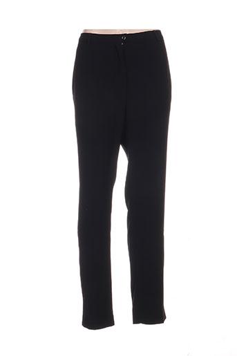 weinberg pantalons femme de couleur noir