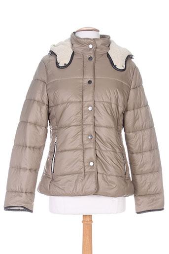 white label manteaux femme de couleur beige