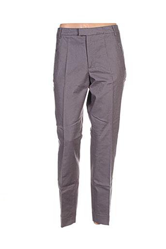 noa noa pantalons femme de couleur gris