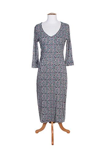 mistral robes femme de couleur bleu
