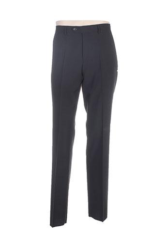 lucas delli pantalons homme de couleur noir