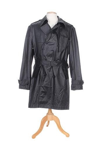 lucas delli manteaux homme de couleur noir