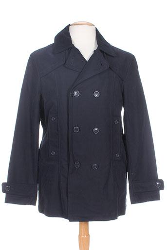 homini emerito manteaux homme de couleur noir