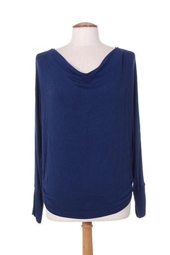 amari pulls femme de couleur bleu