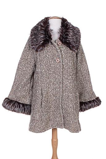 3s manteaux femme de couleur marron