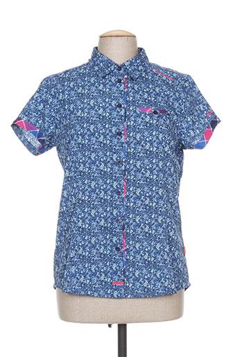 icepeak chemises femme de couleur bleu