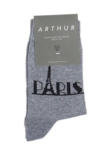 Chaussettes gris ARTHUR pour garçon