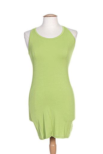 t.think chic robes femme de couleur vert