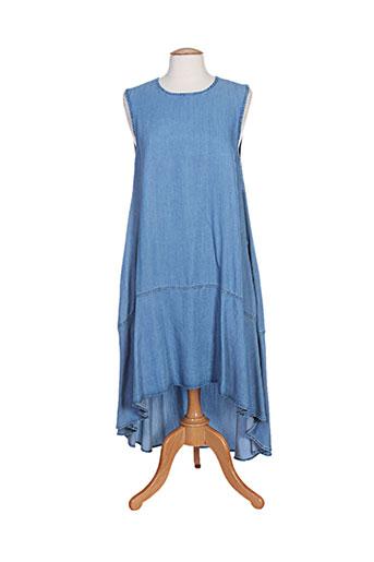 t.think chic robes femme de couleur bleu