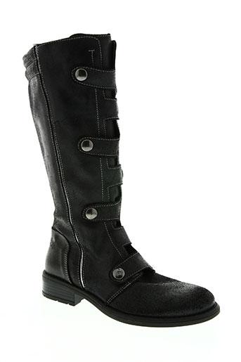 no scratch chaussures fille de couleur noir