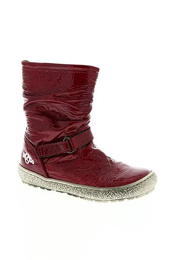 bana EFFI_CHAR_1 co chaussures fille de couleur rouge
