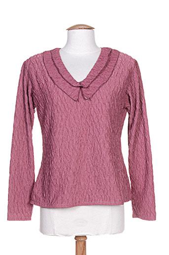 halogene chemises femme de couleur rose