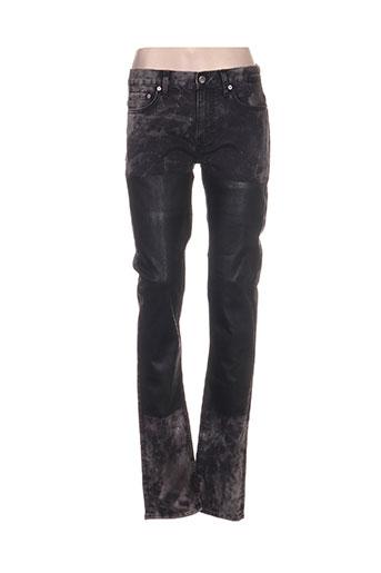blk dnm jeans femme de couleur gris