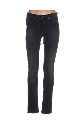 Jeans coupe slim noir GSUS pour femme
