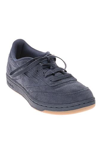 reebok chaussures fille de couleur bleu