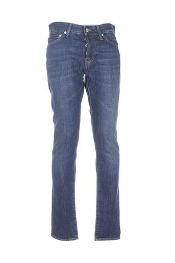 gsus jeans homme de couleur bleu