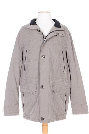 cabano vestes homme de couleur gris