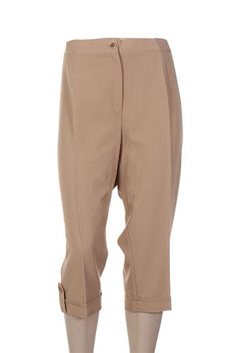 atian shorts / bermudas femme de couleur beige