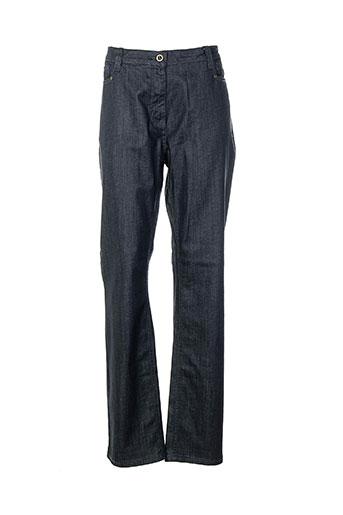 rouge EFFI_CHAR_1 bleu jeans femme de couleur bleu