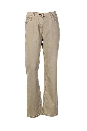 rouge EFFI_CHAR_1 bleu jeans femme de couleur beige