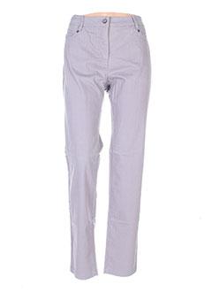 Pantalon casual gris BX pour femme