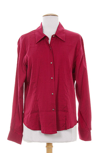 rouge EFFI_CHAR_1 bleu chemises femme de couleur rouge