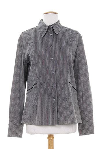 canasport chemises femme de couleur gris