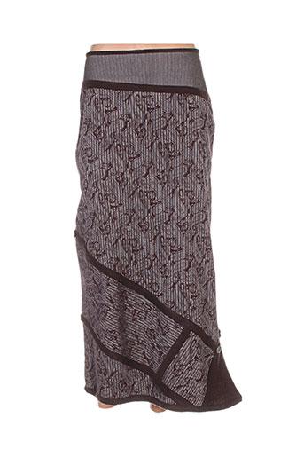 enjoy jupes femme de couleur marron
