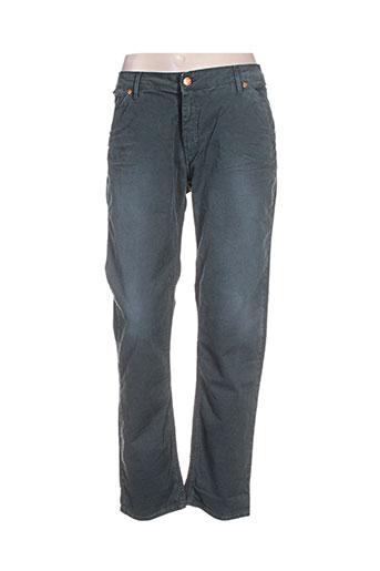 reiko pantalons homme de couleur vert