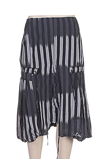 jean gabriel jupes femme de couleur gris