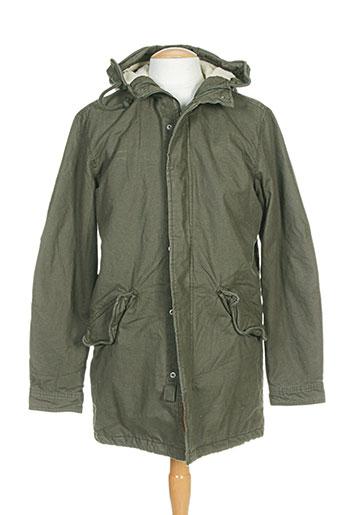 jack EFFI_CHAR_1 jones manteaux homme de couleur vert