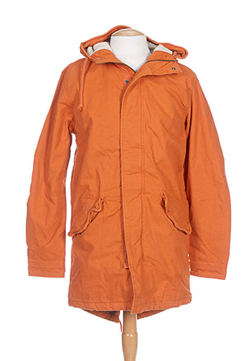 jack EFFI_CHAR_1 jones manteaux homme de couleur orange