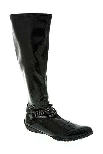 un matin d'ete chaussures femme de couleur noir