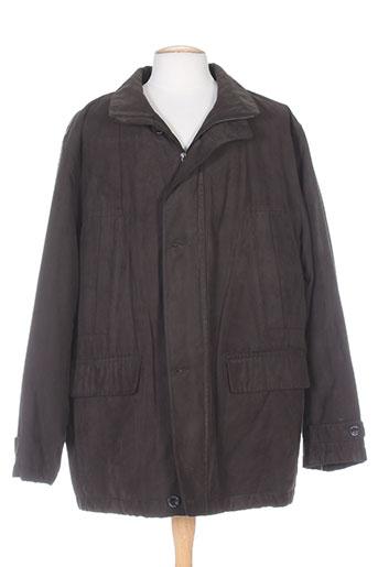 bush manteaux homme de couleur marron