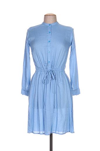 bakker robes femme de couleur bleu