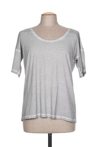 chicama t-shirts femme de couleur gris