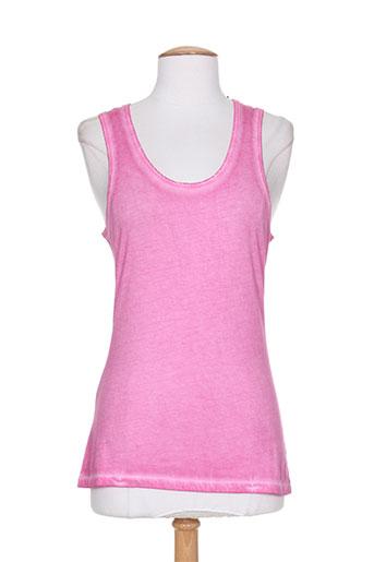 chicama t-shirts femme de couleur rose