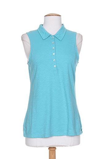 chicama t-shirts femme de couleur bleu