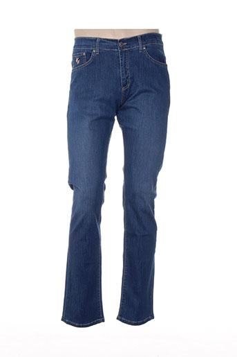 jezequel jeans homme de couleur bleu