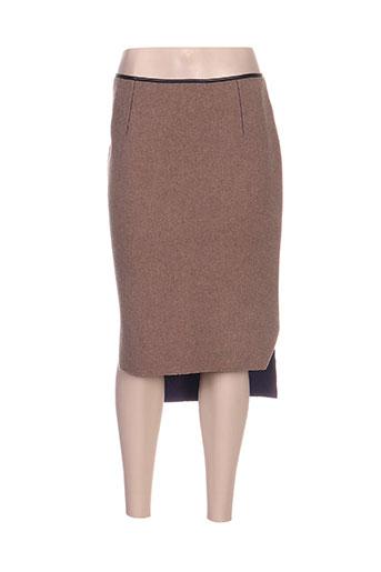 la fabrique jupes femme de couleur marron