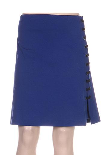 isabel de pedro jupes femme de couleur bleu