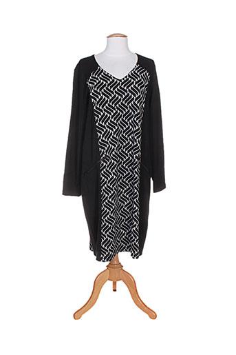 ciso robes femme de couleur noir