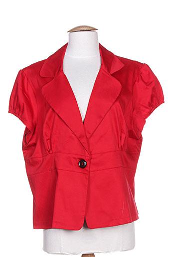 capuccina vestes femme de couleur rouge