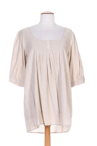 capuccina tuniques femme de couleur beige